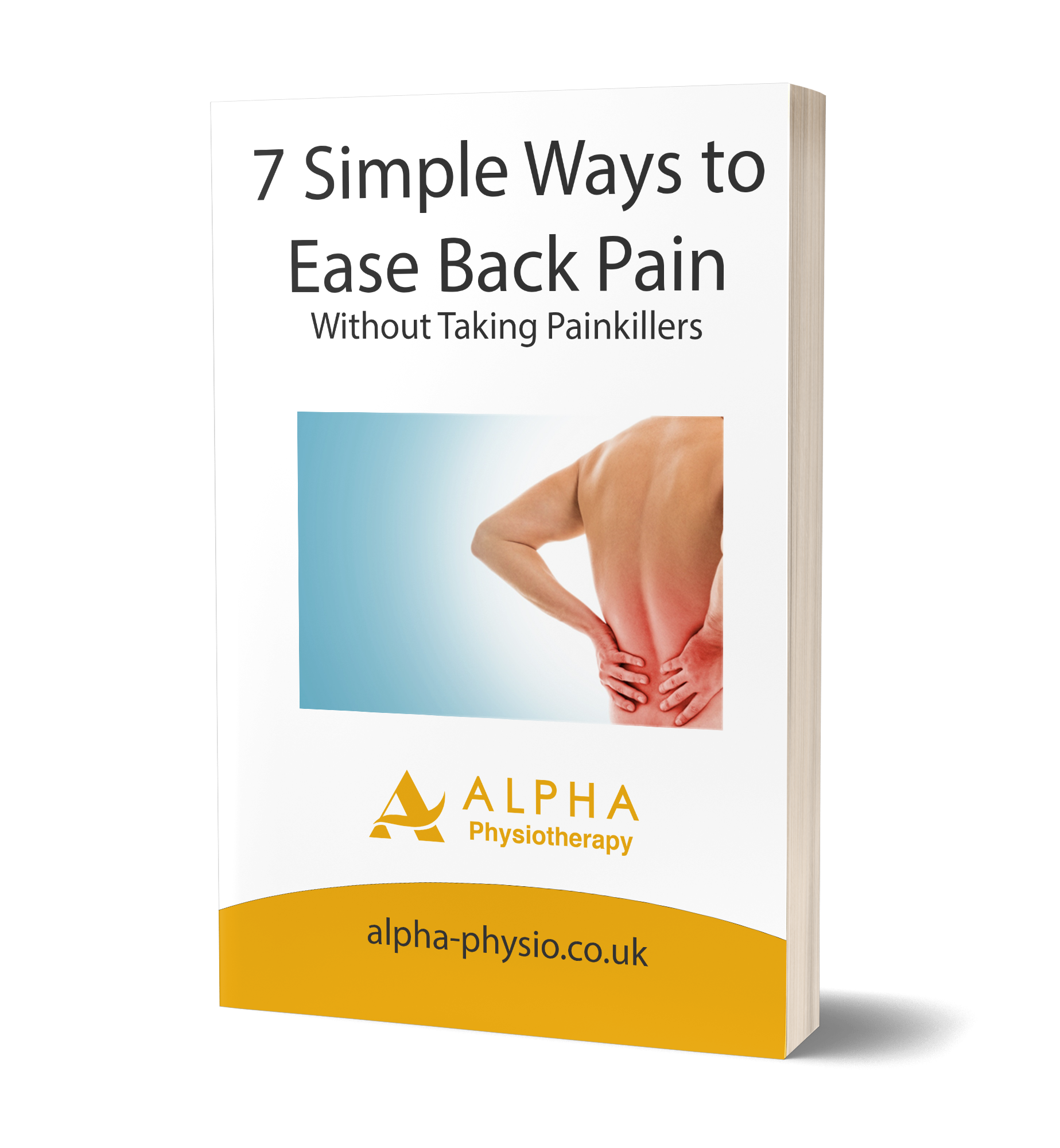 7 Simple Ways to Ease Back Pain eBook